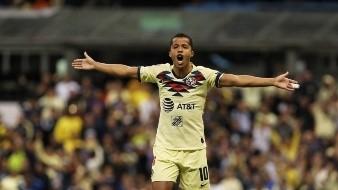 Giovani dos Santos marcó el gol del América.