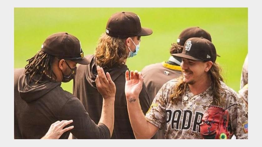 Padres de San Diego, a una victoria de playoffs(Cortesia)
