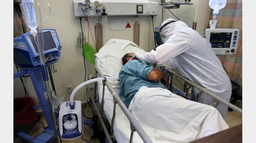 Área de urgencias del Hospital General de Tijuana en agosto de 2020.(Sergio Ortiz)