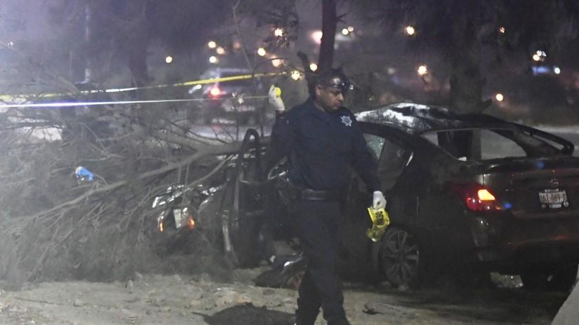 Dos accidentes dejan tres muertos en el bulevar 2000(Gustavo Suárez)