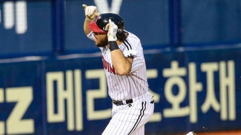 Roberto Ramos ha tenido un gran año de debut en el beisbol coreano(Facebook)