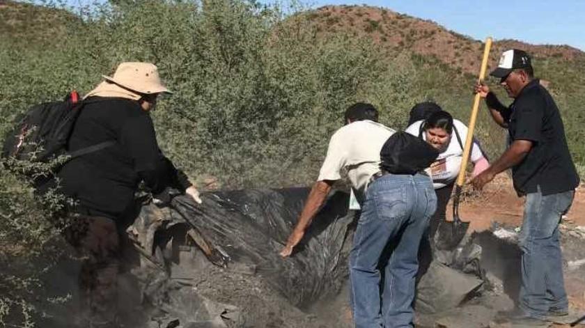 Durante sus búsquedas han localizado a decenas de cuerpos en diferentes puntos de Guaymas y Empalme(Archivo GH)