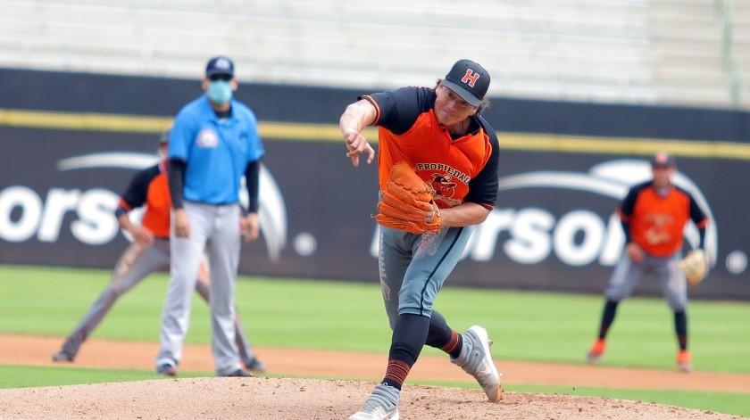 Luis Alonso Mendoza se perfila para ser parte de la rotación de Naranjeros(Cortesía)