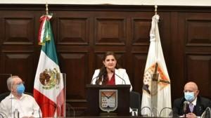 AMLO omite opinar sobre comentario de Célida López de 'fusilar a los narcotraficantes'; es tema electoral, considera