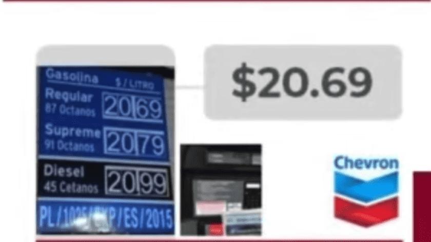 Santa Ana alberga la gasolinera con los precios más elevados a nivel nacional en la gasolina Premium.(Especial)