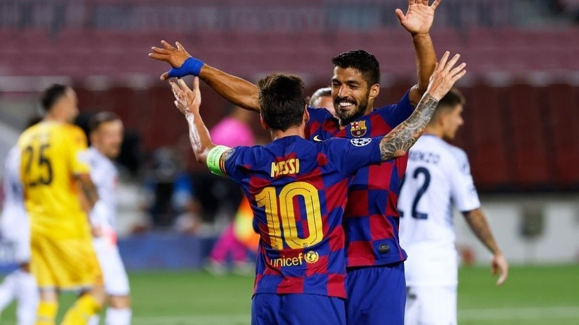 La dupla Luis Suárez-Messi podría vivir sus últimos días(Instagram)