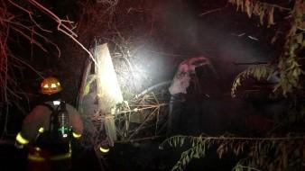 Avioneta se estrella en Somerton