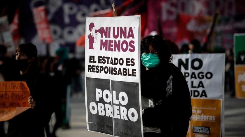 En Argentina todavía se encuentran 24 muertes violentas contra mujeres, en investigación(EFE)