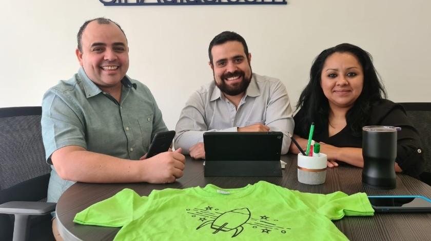 Rayner, Jaime y Andrea quieren ayudar a generar ingresos y capacitar a futuros emprendedores(Eliana Alvarado)