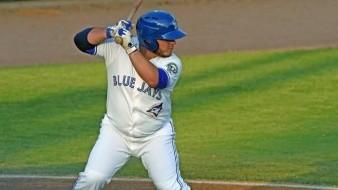Alejandro Kirk tuvo una tarde perfecta con el bat.