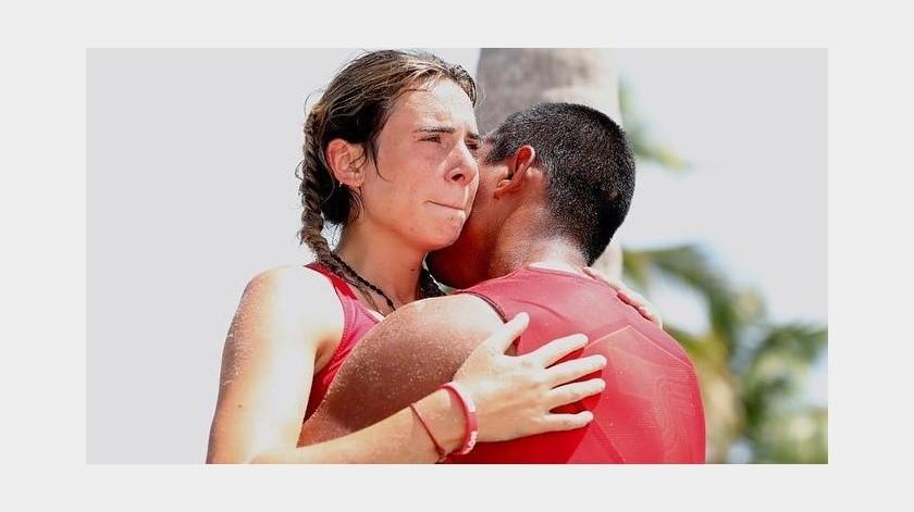 Exatlón: Pamela Verdirame sale del show pero gana el amor de Heliud(Instagram/ pameverdirame)