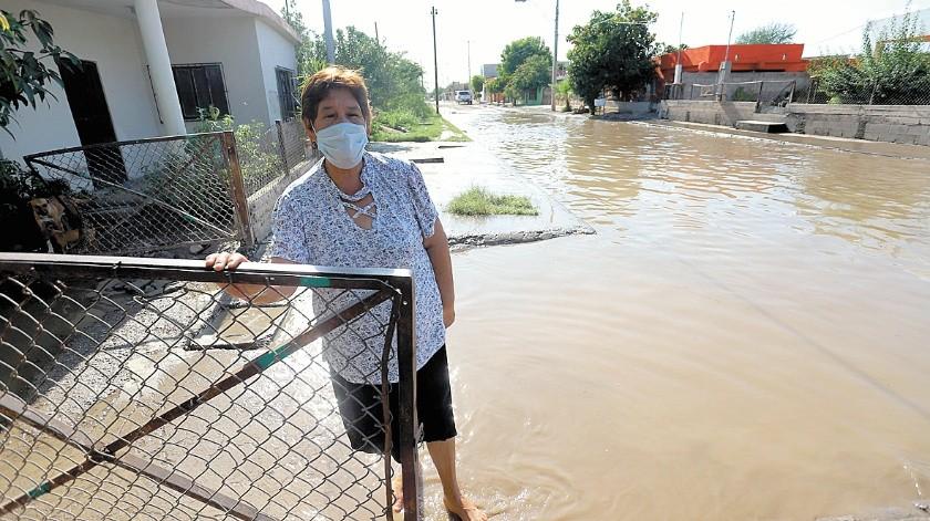 Vecinos del Palo Verde vuelven a sufrir con las inundaciones de sus hogares, luego de cada lluvia.(Anahí Velásquez)