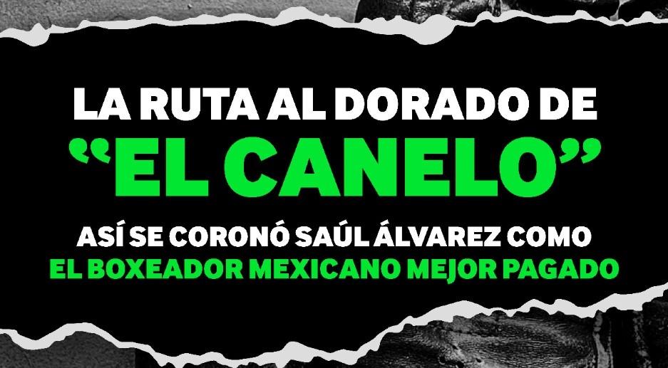 "Saúl ""El Canelo"" Álvarez, un deportista de leyenda"