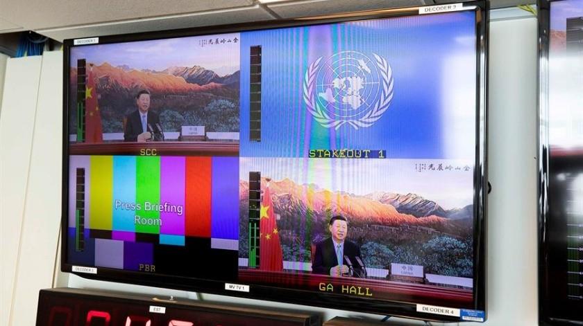 Trump arremete contra China por Covid-19 en plena reunión de la ONU(EFE)