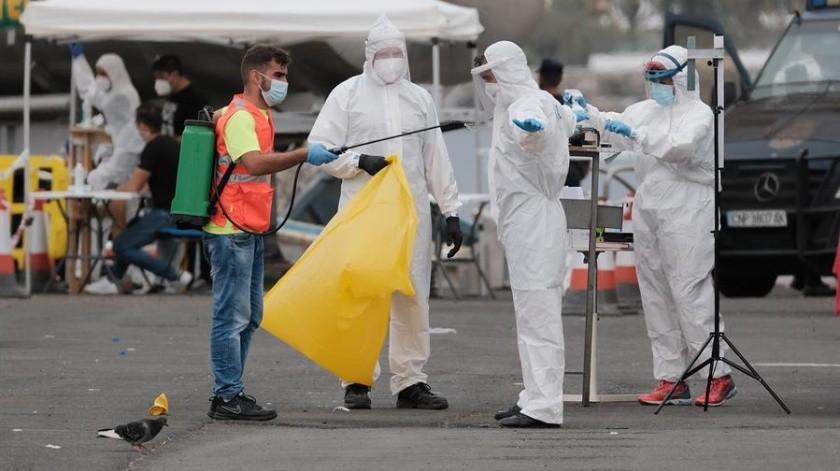 Covid-19 en México: 651 muertes y 4 mil 683 nuevos contagios este día(EFE)