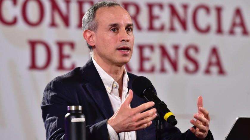 Durante la conferencia de prensa sobre coronavirus,López-Gatellrecomendó que las escuelas reabran cuando la pandemia esté controlada.