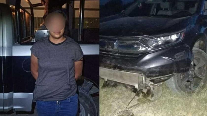 Diputada ocasiona choque múltiple en San Miguel de Allende bajo efectos del alcohol(Especial)