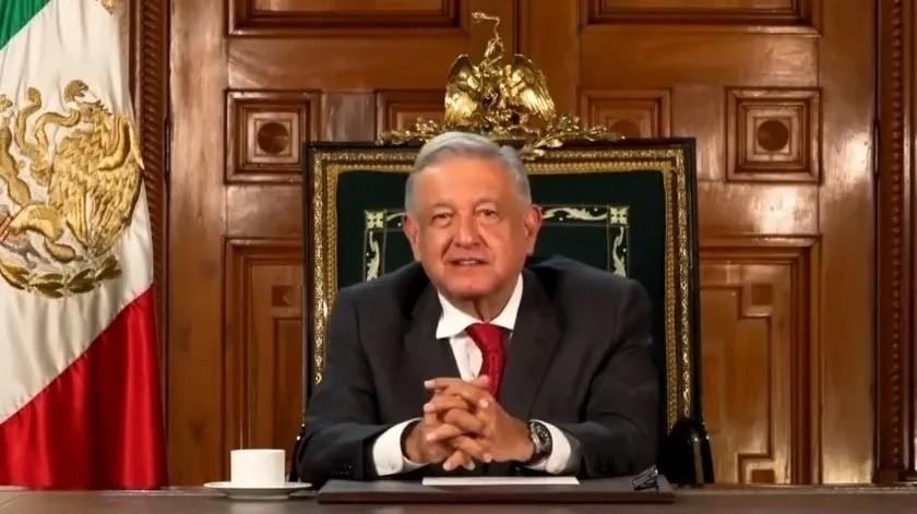 """""""La riqueza no es contagiosa"""", afirma AMLO ante ONU(Captura de video)"""