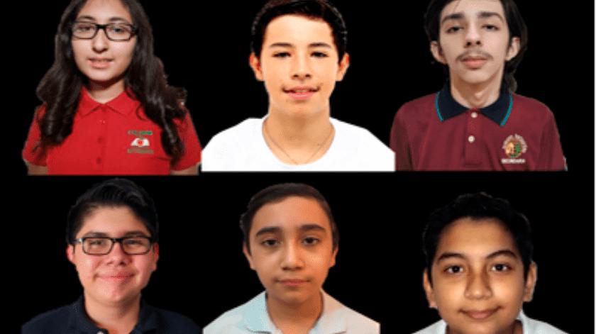 Los seis estudiantes fueron elegidos tras varios exámenes eliminatorios(Especial)
