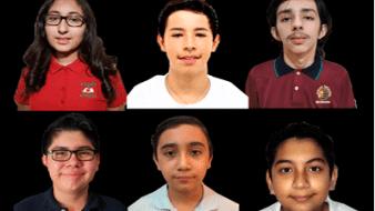 Los seis estudiantes fueron elegidos tras varios exámenes eliminatorios
