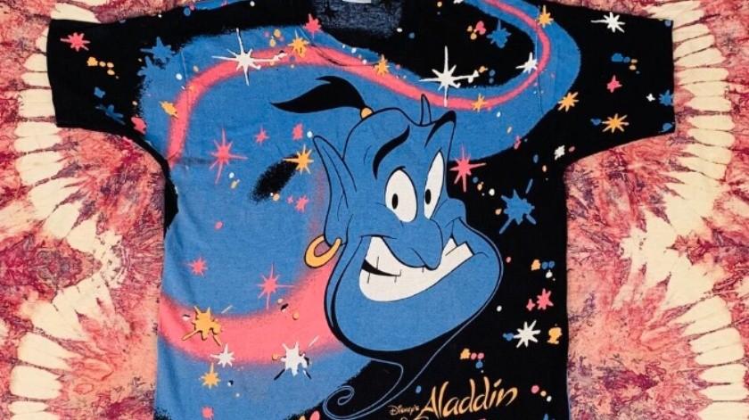 Alguien ha pagado 6 mil dólares por una camiseta vintage de Aladdin de hace 30 años