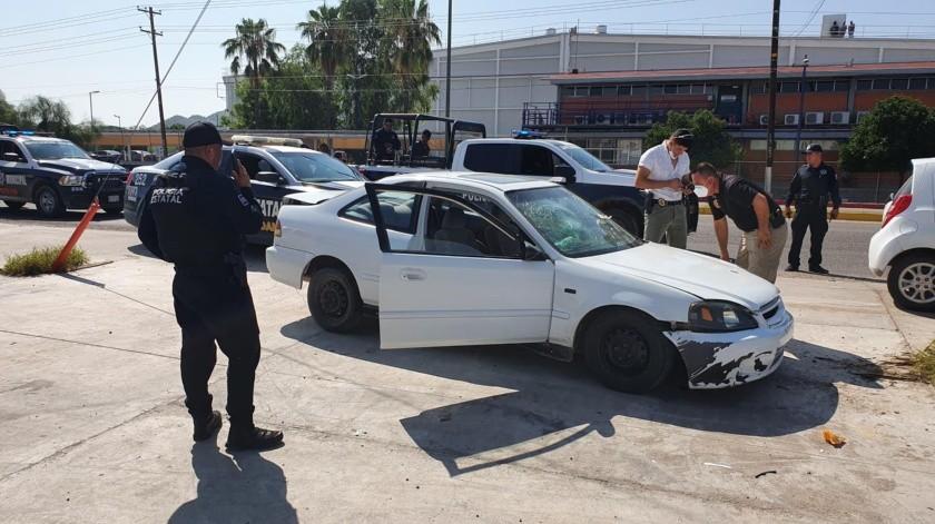 El robo generó una intensa movilización policiaca por la carretera a Sahuaripa.(Especial)