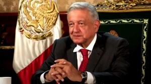 El presidente de México Andrés Manuel López Obrador en su mensaje por el 75 Aniversario de la fundación de la ONU.