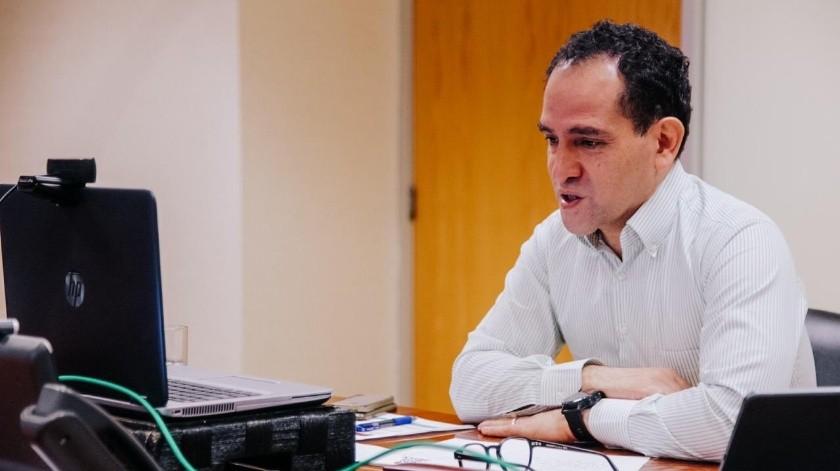 Herrera explicó que ahora más que nunca su agenda de trabajo está muy cargada.