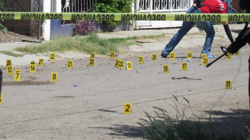 Con más de 60 disparos rafaguean vivienda en colonia Aves del Castillo, Ciudad Obregón(Especial)