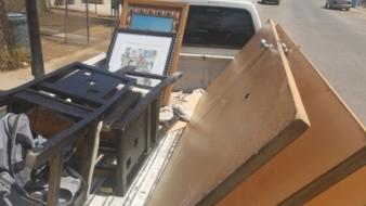 Recuperan artículos robados de vivienda en colonia Fuente de Piedra