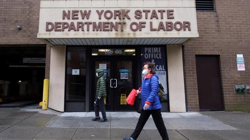 Entre marzo y abril, la mayor economía del mundo perdió casi 22 millones de empleos(EFE)
