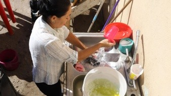 Los cortes de agua se realizan en cada colonia cada nueve días.
