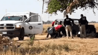 Hallan dos cuerpos sin vida en Obregón, uno baleado y otro incinerado