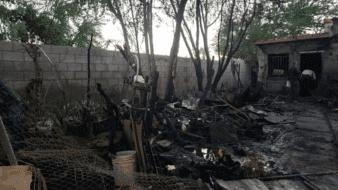 Mueren 4 personas en dos incendios esta mañana