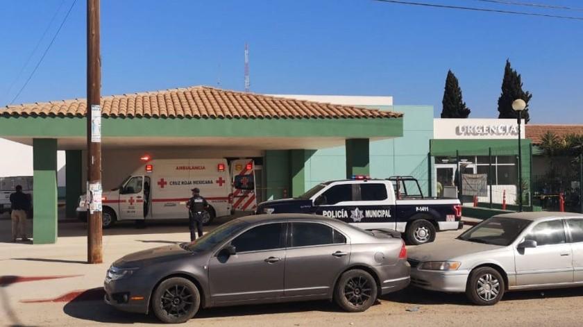 Los hechos ocurrieron al interior de un centro de salud en la delegación Vicente Guerrero.(Cortesía Ángel Anguiano)