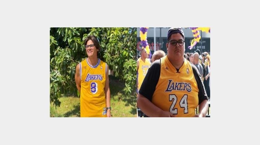¡Una gran fuente de inspiración! Joven baja 80 kilogramos gracias Kobe Bryant(Instagram @huertaweightgoals)