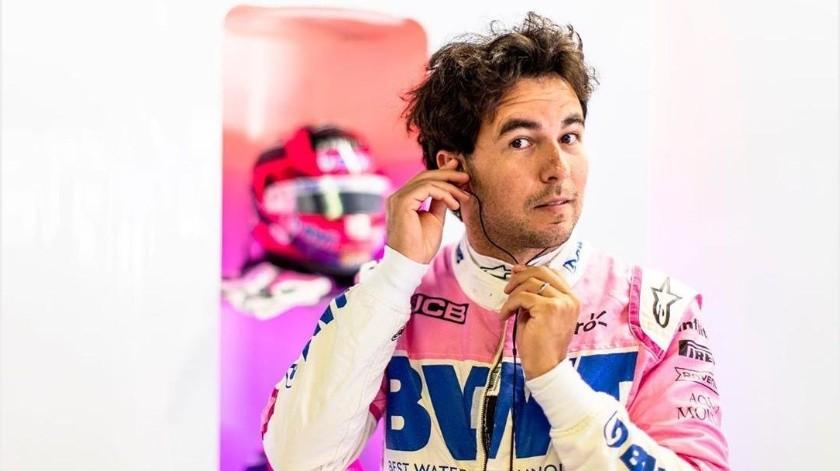 """""""Checo"""" Pérez inconforme con la actitud de su equipo Racing Point(Instagram @schecoperez)"""