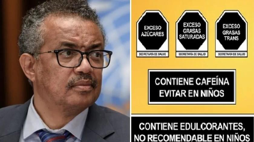 OMS premia a México por etiquetado frontal en alimentos(Cortesía)