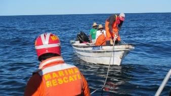 En menos de 40 horas tres pescadores han sido rescatados por la Semar en las costas de Guaymas-Empalme