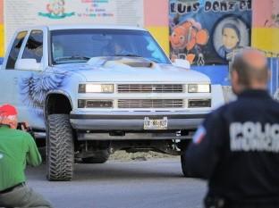 Camioneta de héroe en guardería ABC reaparece en reconstrucción de los hechos