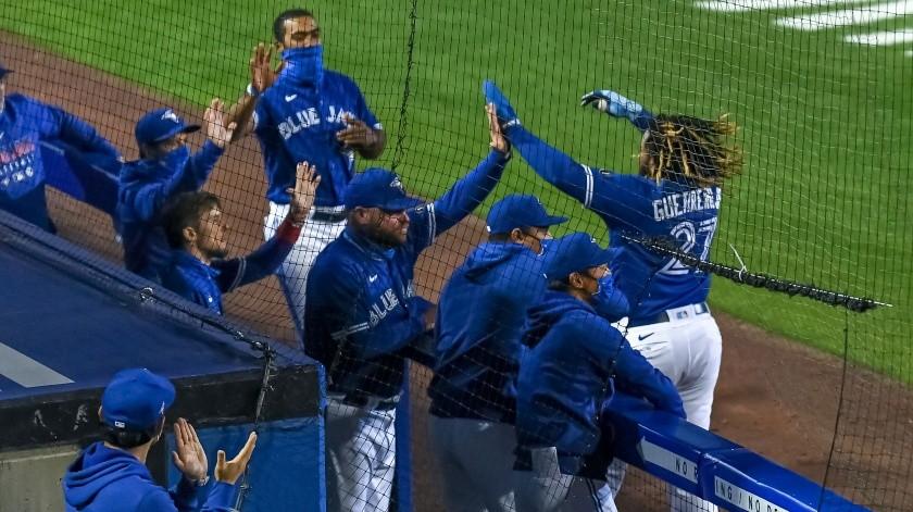 Azulejos de Toronto es ahora candidato a la Serie Mundial(Twitter)