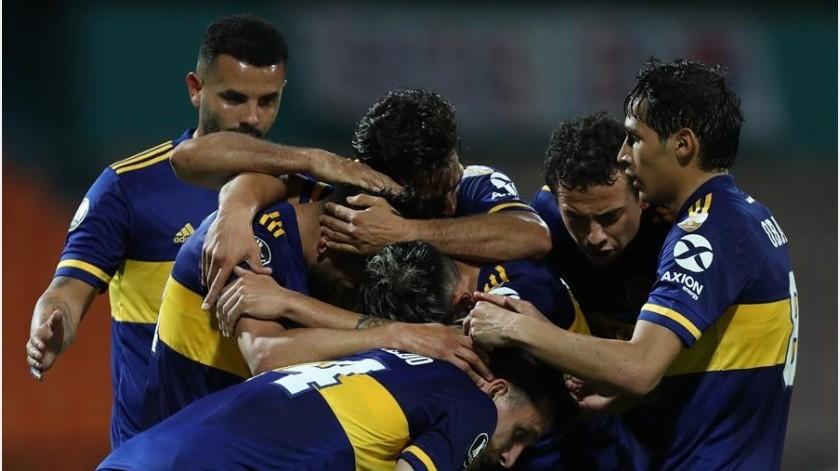 Boca Juniors vence al Independiente de Medillín y se acerca a los Octavos de Final(EFE)
