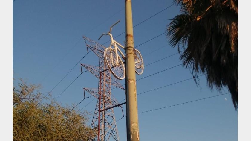 Ciclistas exigen mejoras en la Zona Este(Cortesía)