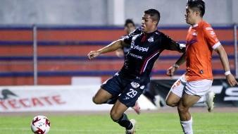Santiago Patiño se estrenó como goleador de Cimarrones.