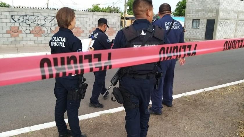 Tres personas fueron asesinadas ayer en Ciudad Obregón.(Especial)