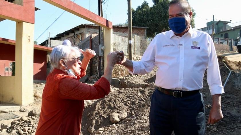 Ha recorrido el Alcalde tres cuartas partes de las 1,200 colonias que conforman Tijuana, dijo.