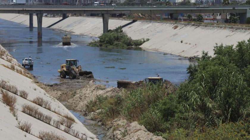 En la limpieza de la canalización se han invertido 99 millones de pesos.