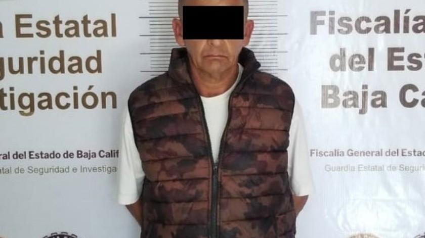 El detenido está identificado como Espiridión N.(Cortesía)