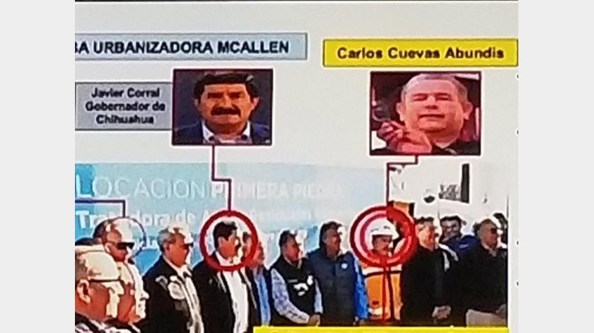 Ante estas declaraciones, el mandatario chihuahuense negó estar involucrado con dicha persona.