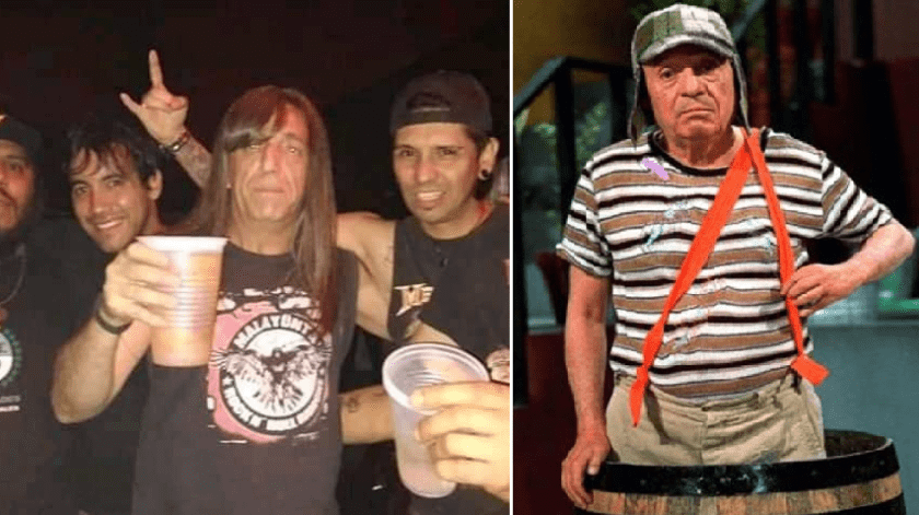 Phil Claudio González es un argentino que se volvió tendencia por su parecido con Chespirito.(Especial)